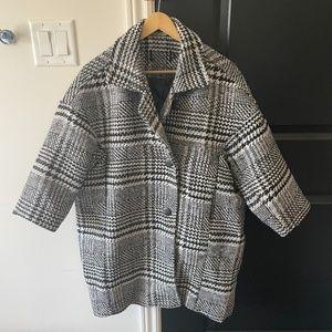 Korean oversized cut wool coat
